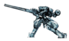Brawl Sticker Metal Gear REX (MGS The Twin Snakes)