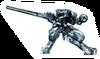 Brawl Sticker Metal Gear REX (MGS The Twin Snakes)