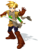 Super Smash Bros. Strife recolour - Isaac 2