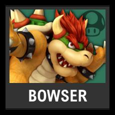 Super Smash Bros. Strife character box - Bowser