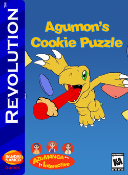 Agumon's Cookie Puzzle Box Art 1