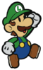 PMCS - Paper Luigi sprite