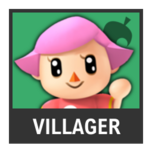 Super Smash Bros. Strife character box - Villager F