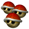 Triple Red Shell