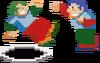Urban Champion NES render
