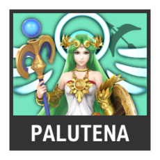 Super Smash Bros. Strife character box - Palutena