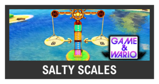 Super Smash Bros. Strife stage box - Salty Scales