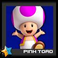 ACL Mario Kart 9 character box - Pink Toad