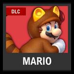 Super Smash Bros. Strife character box - Tanooki Mario