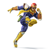 SSB4U3D Captain Falcon