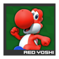 ACL Mario Kart 9 character box - Red Yoshi