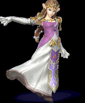 SSB4U3D Zelda