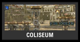 Super Smash Bros. Strife stage box - Coliseum