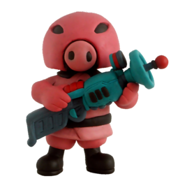 Mother 3 Pigmask clay