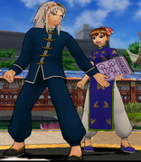 Mamodo Battles MODELS - Wonrei & Li-en2