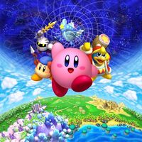 Kirby's Return Arte Cover