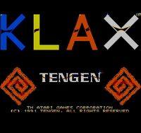 Klax Master System captura1