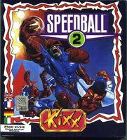 Speedball 2 portada Atari ST KIXX