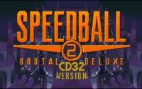 Speedball 2 título CD32