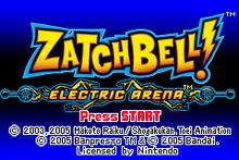 Zatch Bell title