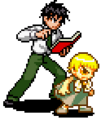 Rauzaruk Zatch & Kiyo2 - KNGB Unare Yuujou no Zakeru 2