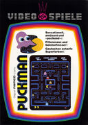 Pac-Man folleto Arcade GER