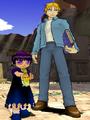 Mamodo Battles MODELS - Laila & Albert