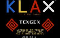 Klax Atari ST captura1