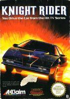 Knight Rider NES portada EUR