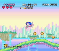 Pop'n TwinBee TwinBee Rainbow Bell captura 2.png