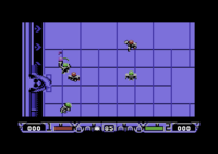 Speedball 2 captura Commodore64