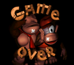 Donkey Kong Country Game Over