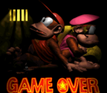 Donkey Kong Country 2 Game Over