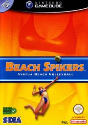 Beach Spikers - Portada.jpg