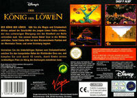The Lion King portada SNES EUR-b