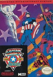 Captain America and the Avengers (NES) - Portada.jpg