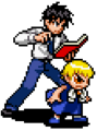 Zatch & Kiyo - KNGB Unare Yuujou no Zakeru 2