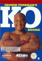 George Foreman's KO Boxing portada