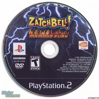 Zatch Bell! Mamodo Fury CD USA PS2