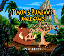 Timon & Pumbaa's Jungle Games titulo SNES.png