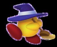 Kirby Triple Deluxe - Sombrescoba