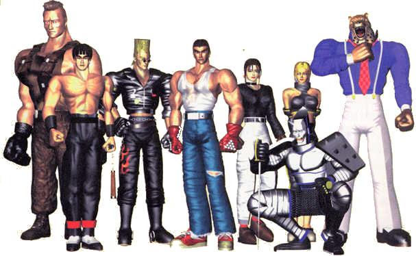 Archivo:Tekken1cast.jpg