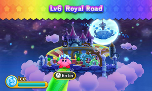 Kirby Triple Deluxe - Nivel 6