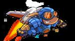 Rocket Knight - Sparkster arte 3