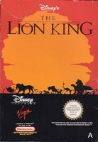 The Lion King portada NES EUR