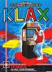 Klax Mega Drive portada EUR