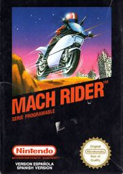 Mach Rider - Portada ESP.jpg