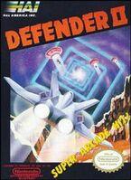 Defender II NES portada USA