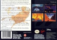 The Lion King portada SNES USA-b
