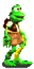 Frogger Advance the Great Quest - Frogger Sprite